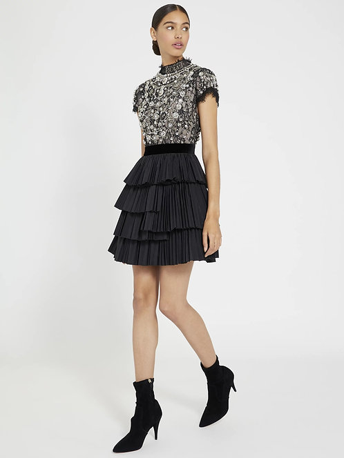 ALICE+OLIVIA Embroidered dress