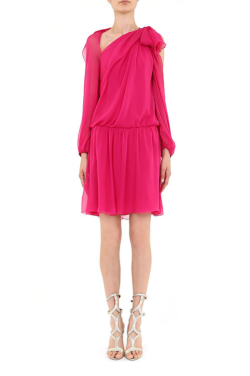 ALBERTA FERRETTI Chiffon Dress