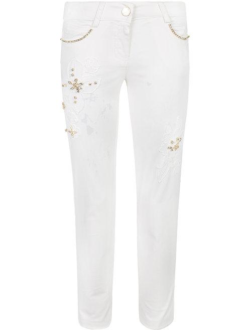 White Jeans MISS BLUMARINE