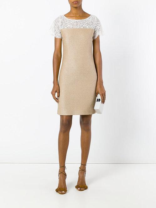 BLUMARINE Raffia Dress