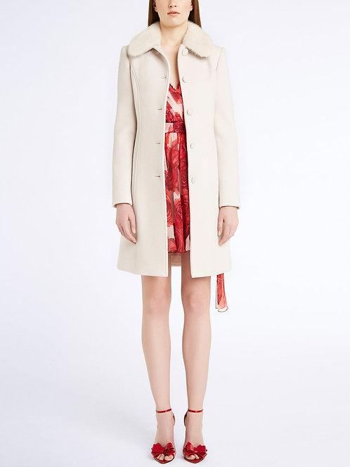 BLUMARINE Coat with mink fur