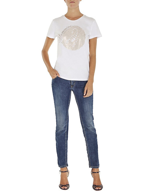 BLUMARINE Limited edition Zodiac T-shirt