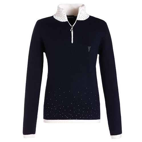 Sweater With Crystals