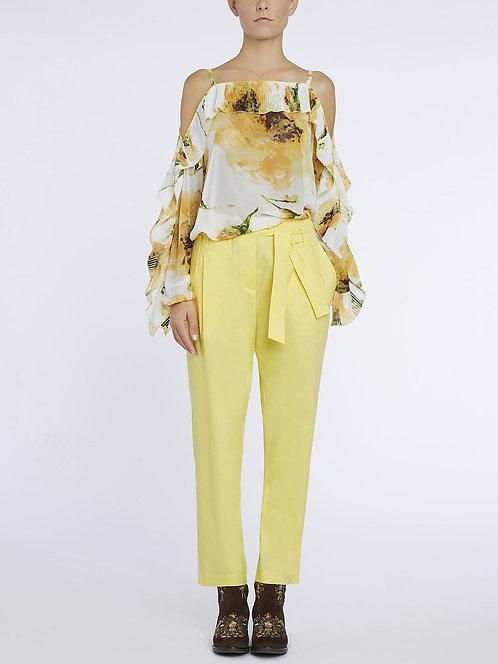 BLUGIRL Yellow Trousers
