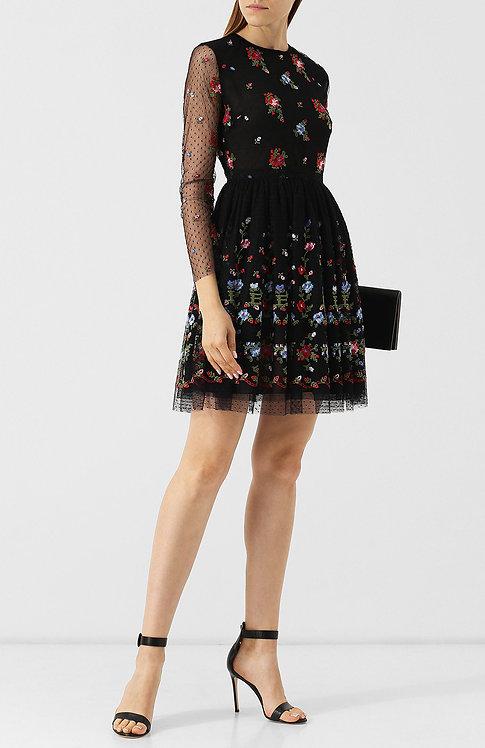 tulle embroidered dress ermanno scervino shop sofia bulgaria