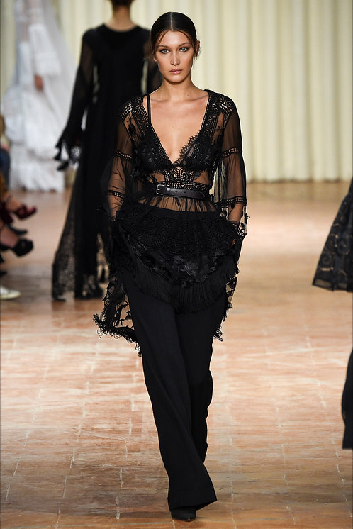 Alberta Ferretti Fashion Show Look16