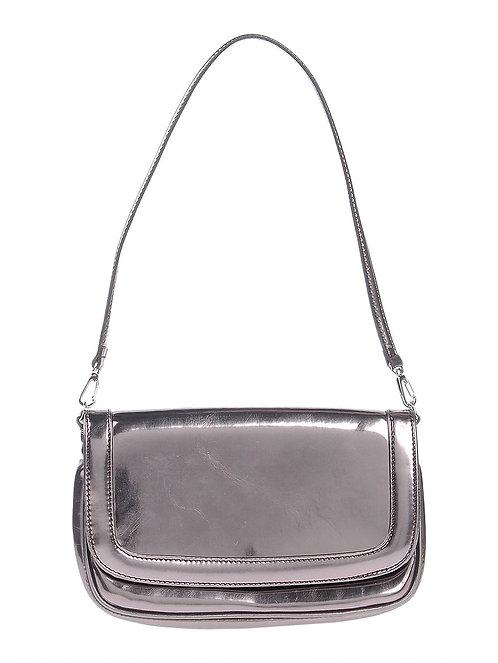 BLUMARINE  Silver mini bag