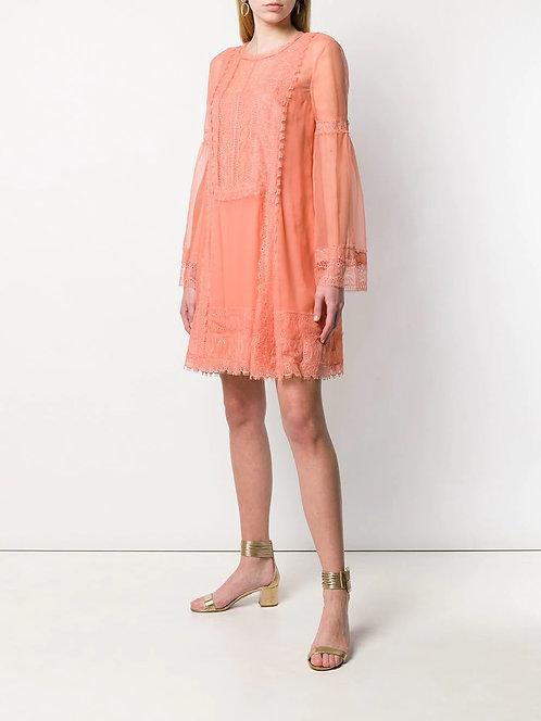 ALBERTA FERRETTI Dress with lace