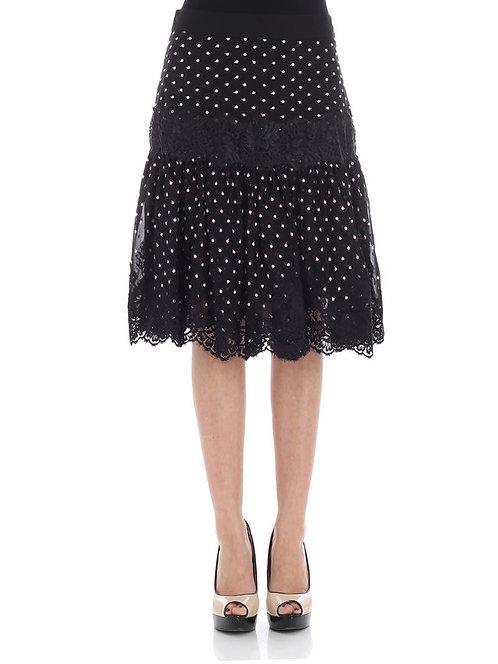BLUMARINE Polka dots skirt