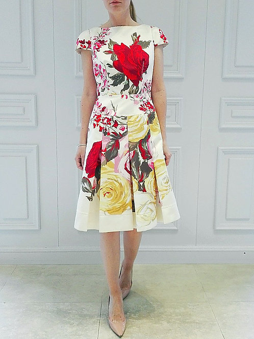 BLUMARINE Dress with print