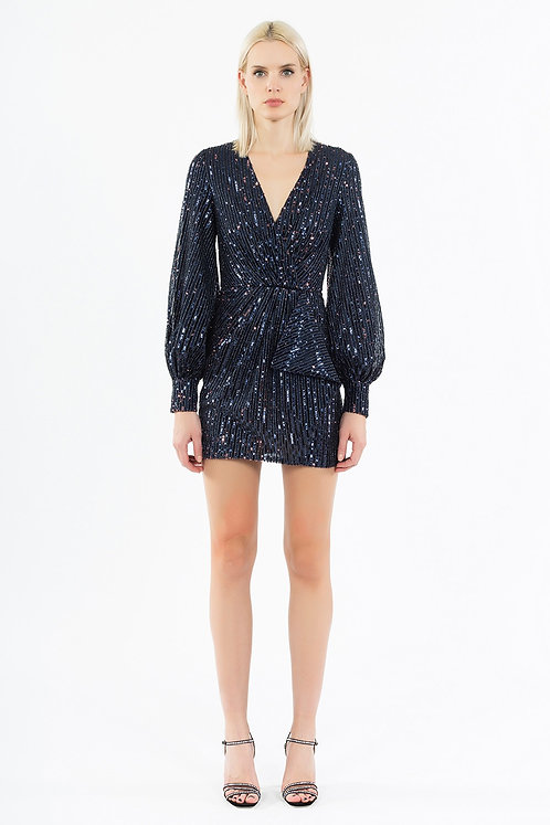 INGIE PARIS Mini dress with sequins