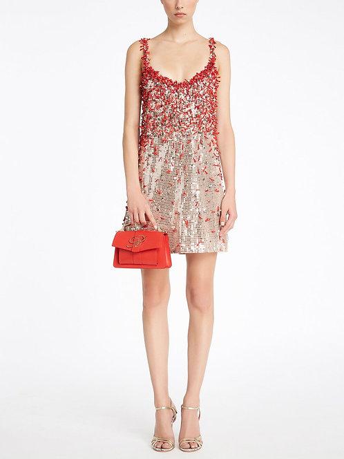 BLUMARINE Sequin embroidered dress