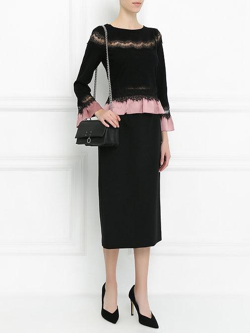 ALBERTA FERRETTI Fine knitted blouse