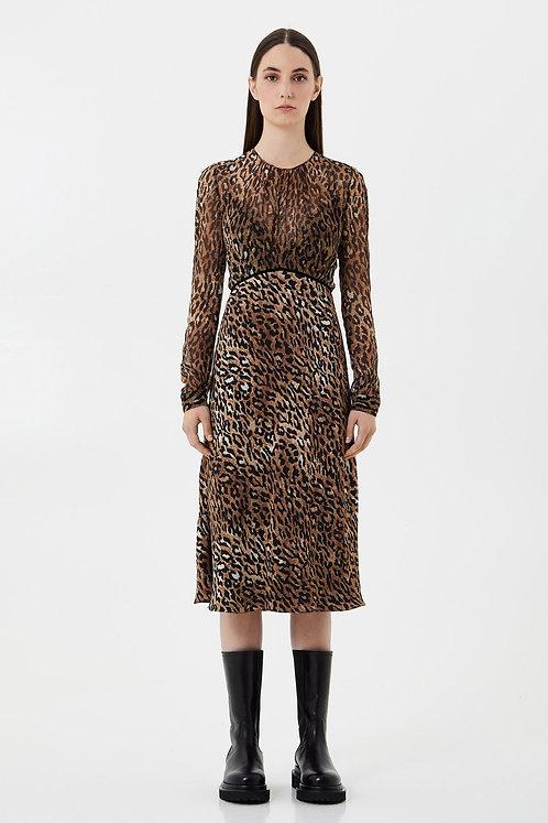 BLUMARINE Animal print dress