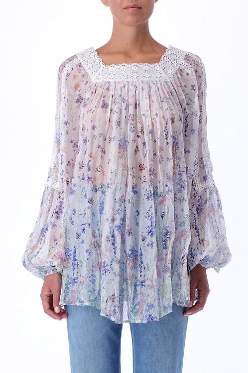 ERMANNO FIRENZE Floral blouse