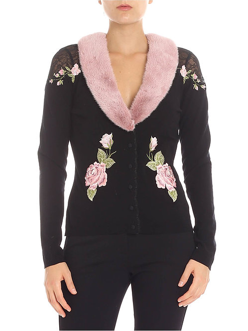 BLUMARINE Twinset with embroidery