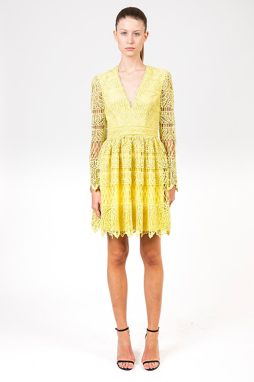 INGIE PARIS Macramé dress