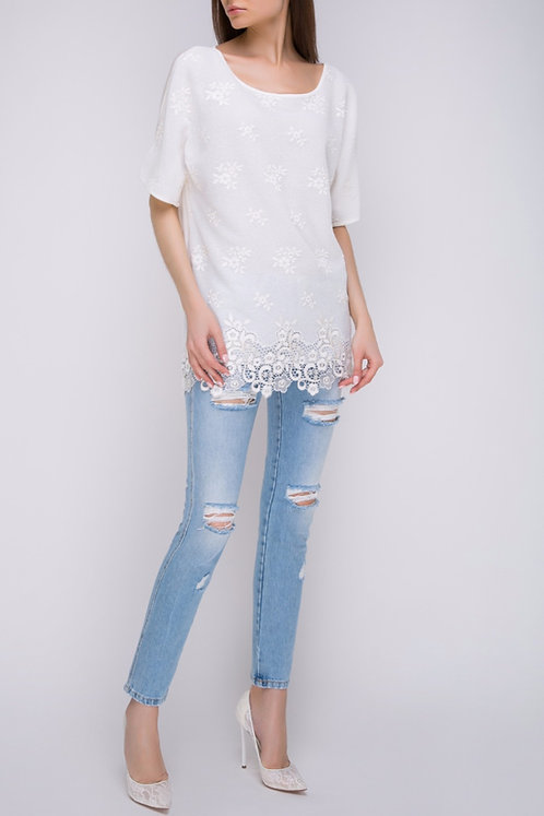 ERMANNO by ERMANNO SCERVINO Ripped Jeans