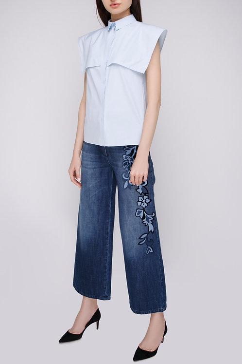 ALBERTA FERRETTI Embroidered Jeans