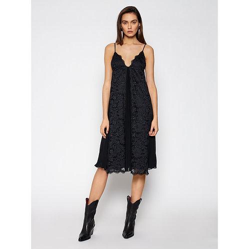 ERMANNO FIRENZE Lace midi dress