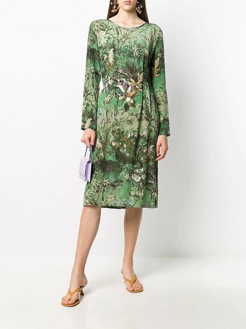 ALBERTA FERRETTI Dress with floral print