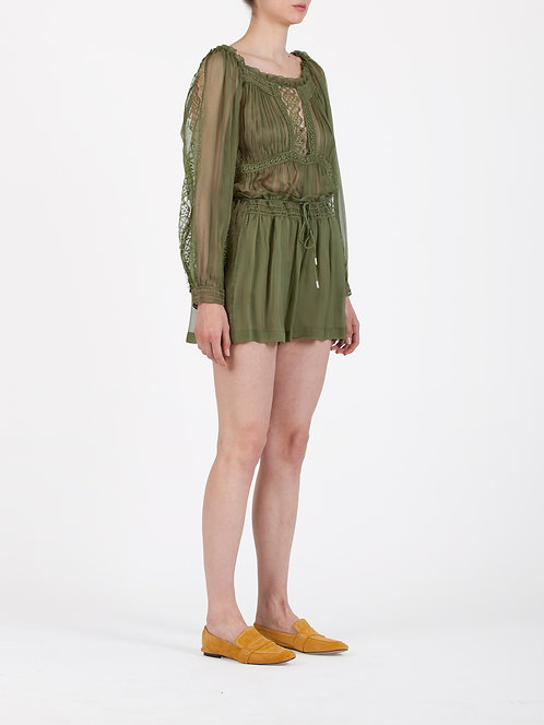 ALBERTA FERRETTI Chiffon shorts
