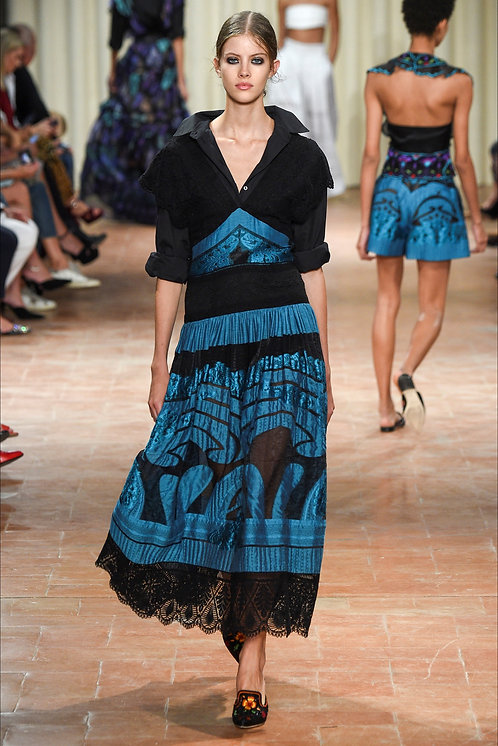 Alberta Ferretti Fashion Show Look13