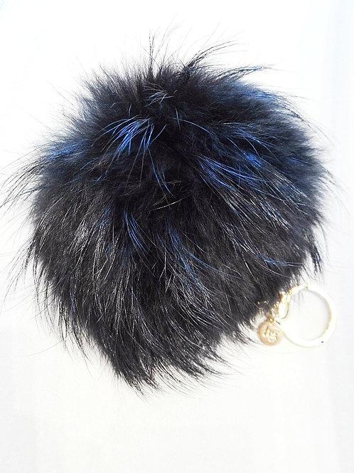 Pom-pom Fur Keyring Blugirl