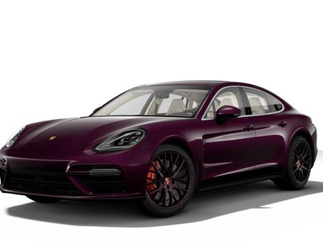 Amethyst Porsche Panamera