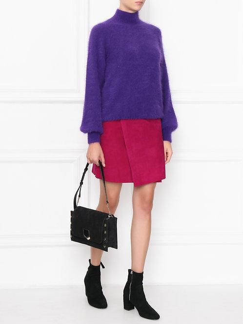 angora sweater violete purple alberta ferretti shop online