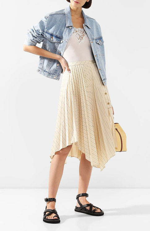 ERMANNO Top with lace
