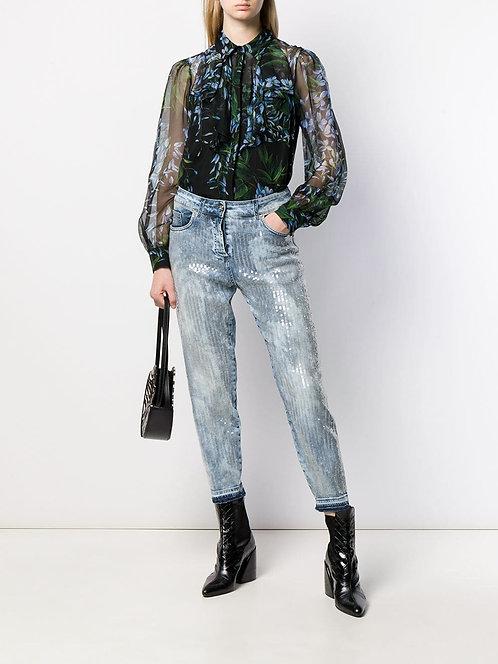 BLUMARINE Chiffon blouse