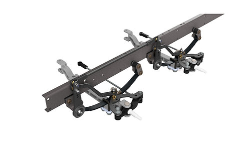 NO DRILLING TRIPLE Axle Steering Mk5 for 1/14 trucks