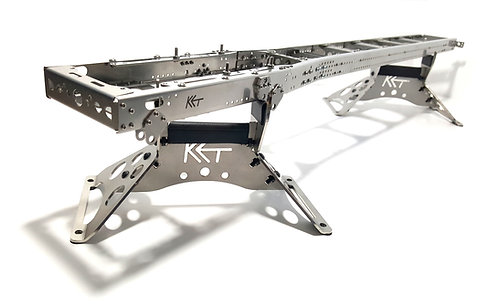720mm Frame 12x6 12x4 ULTRA LONG for Tamiya 1/14 truck STEEL