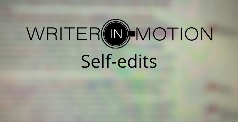 Writer in Motion - Week 4