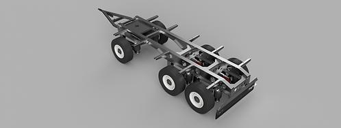 Trailer 450mm 2 axle / 3 axle