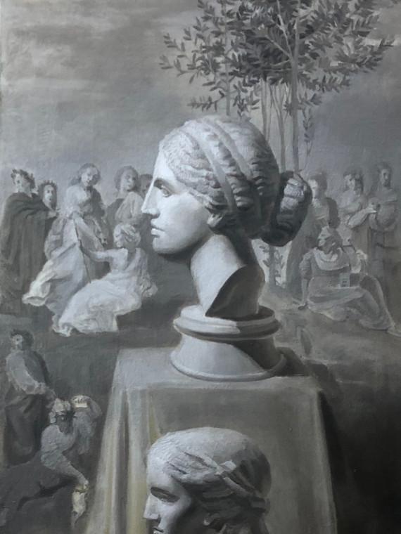 Натюрморт с гипсами