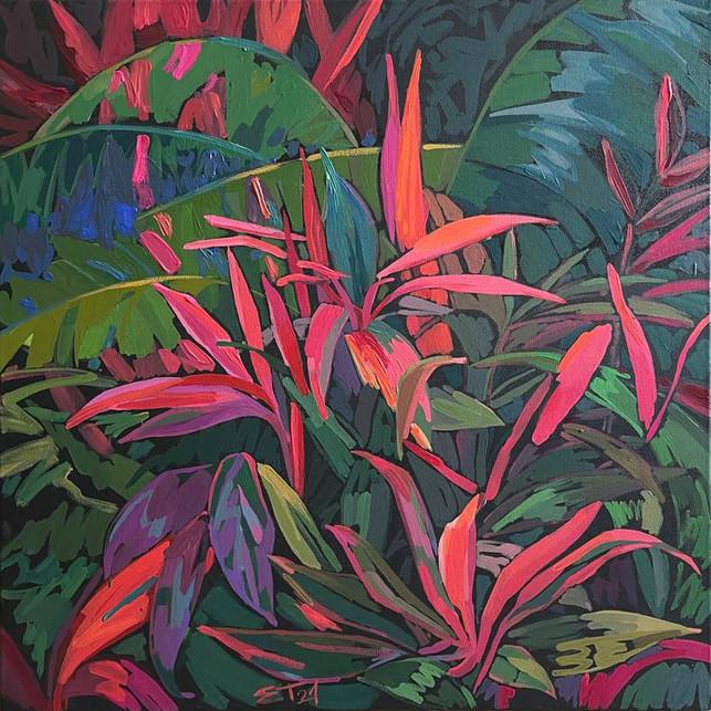 Лес острова Бали