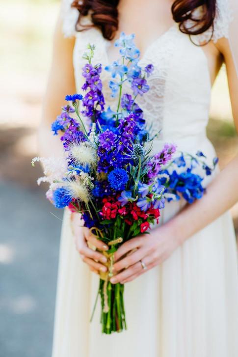 Purple Wild Flower Bouquet