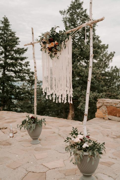 Macrame Boho Wedding Backdrop