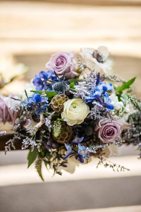 Lavendar Wild Flower Bouquet