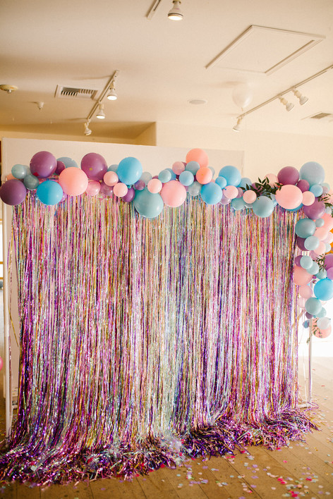 Unicorn Balloon Backdrop