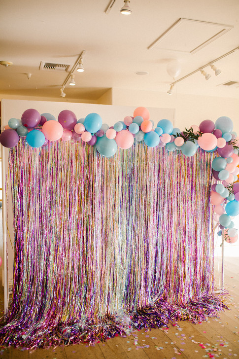 Unicorn Balloon Backdrop