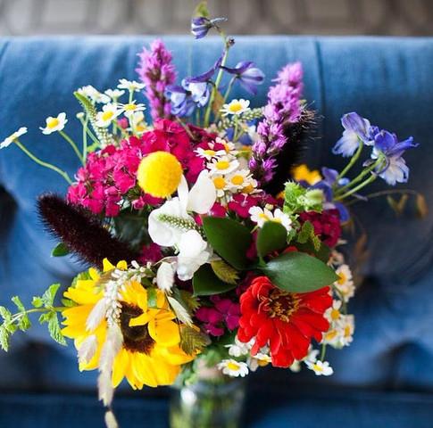 Rainbow Wild Flower Bouquet