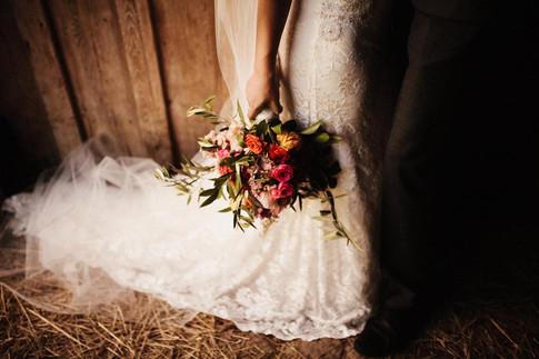Olive Branch Wedding Bouquet