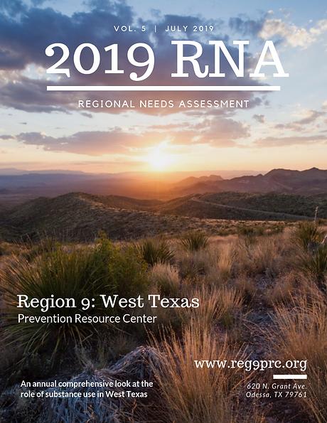 2019 Regional Needs Assesment magazine