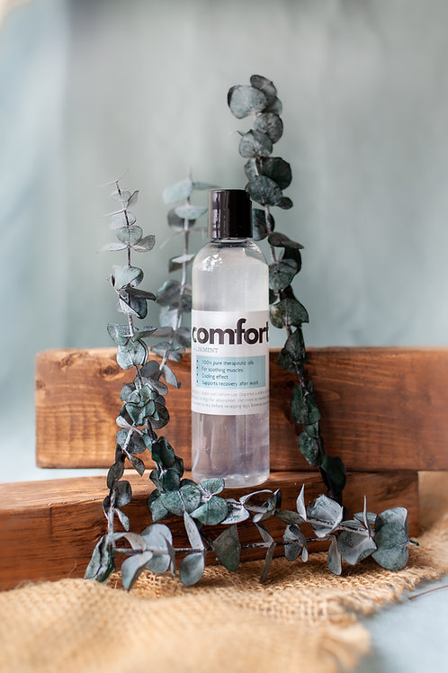 comfort. A Liniment (4 oz trial size)