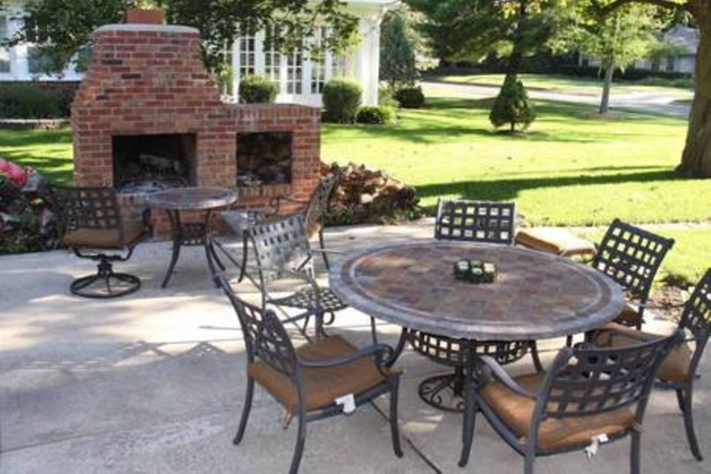 Manor Patio and Fire Pit
