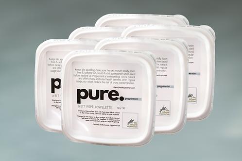 pure. A Bit Wipe (6 pack)