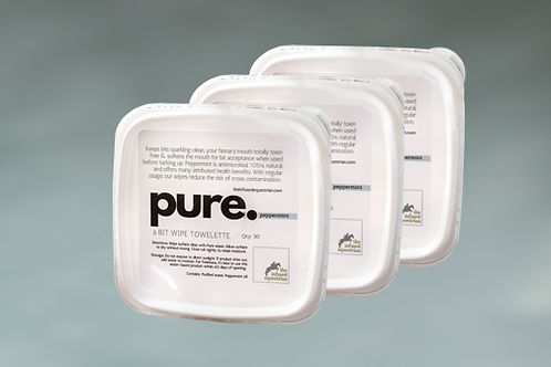 pure. A Bit Wipe (3 pack)